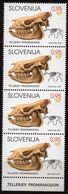 Slovenia 2020 Strip 4 V MNH  Fossil Mammals - Fósiles