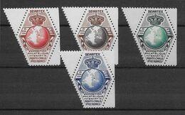Monaco 4 Vignettes Reinatex 1952 - Neuf ** Sans Charnière - TB - Otros
