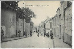 94, Val De Marne, VALENTON, Grande Rue, Scan Recto-verso - Valenton