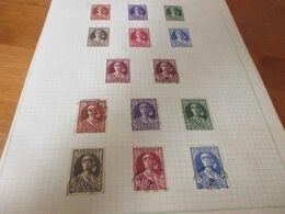Blad Met Postzegels - Unclassified