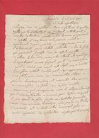 Gard- Beaucaire- Révolution Française Lettre Des Administrateurs Du Directoire Du District De Beaucaire 1793 - Historical Documents
