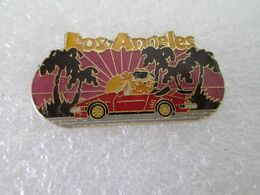 PIN'S    LOS ANGELES  PORSCHE CABRIOLET - Porsche