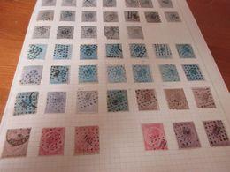 Blad Met Postzegels, - Belgien