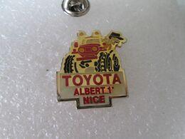 PIN'S      TOYOTA   ALBERT 1er  NICE - Toyota