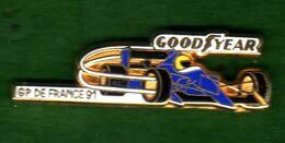 Pin's Grand Prix De France 91 Good Year   Zamac  Arthus Bertrand - Arthus Bertrand