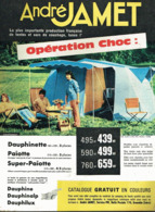 "PUB Camping Tente "" André Jamet "" 1961 ( 1 ) - Camping"