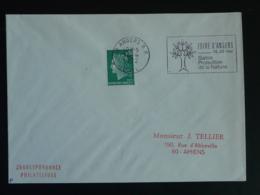 49 Maine Et Loire Angers RP Salon Protection De La Nature 1972 - Flamme Sur Lettre Postmark On Cover - Environment & Climate Protection