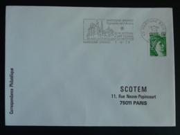 49 Maine Et Loire Martigné Briand Chateau Castle 1979 - Flamme Sur Lettre Postmark On Cover - Schlösser U. Burgen