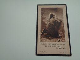 Doodsprentje ( 2469 )   Deleu / Doubbel - Staden  Hooglede      1939 - Todesanzeige
