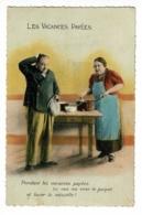 Les Vacances Payées ( Couple ) Pendant Les Vacances , Tu Vas Me Cirer Le Parquet Et Laver La Vaisselle - Circ 1938 - Humour