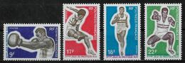 POLYNESIE FRANCAISE - SPORTS - N° 66 A 69 - NEUF** - Unused Stamps
