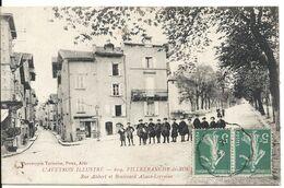 RUE ALIBERT ET BOULEVARD ALSACE LORRAINE - Villefranche De Rouergue