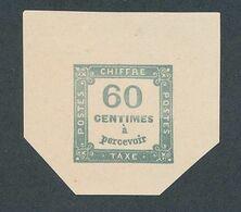 """DP-548: FRANCE: Lot Avec """"Essai""""   Taxe N°9 NSG (papier épais) - Proofs"""