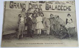 72  LA  FERTE  BERNARD     HARMONIE  STE CECILE   KERMESSE  DES  25 & 28  MAI 1911     GRAND CIRQUE BALADECHE - La Ferte Bernard