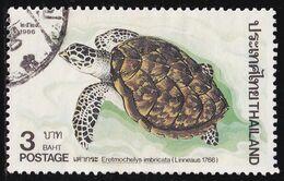 Thailand Stamp 1986 Marine Turtles 3 Baht - Used - Tailandia