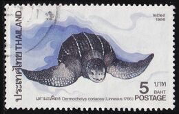 Thailand Stamp 1986 Marine Turtles 5 Baht - Used - Tailandia