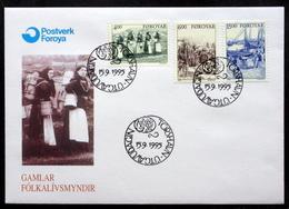 Faroe Islands 1995     MiNr.285-287   FDC  ( Lot Kas) - Féroé (Iles)