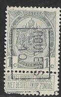 Roeselaere 1910  Nr. 1479B Tanding Linksonder - Precancels