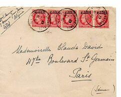 C18 1947 Algérie  France - Lettres & Documents