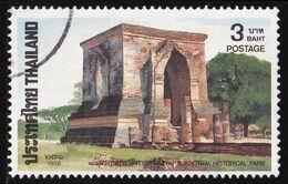 Thailand Stamp 1988 Thai Heritage Conservation (1st Series) 3 Baht - Used - Tailandia