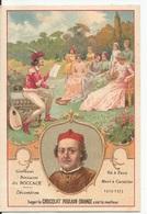 Chromo  / CHOCOLAT POULAIN ORANGE / Les  Romanciers Célèbres / Giovanni Boccacio  Dit BOCCACE Né à Paris Mort à Certaldo - Poulain