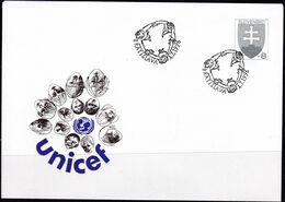 Slowenko, 1996,  U 11, Unicef - Postal Stationery