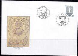 Slowenko, 1996,  U 14, Moric Benovsky - Postal Stationery