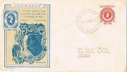 37422. Carta SYDNEY (Australia) 1953. Centenary Stamp TASMANIA - Covers & Documents