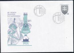 Slowenko, 1996,  U 15, 40 Jahre Fernsehen, 40 Years Of Television - Postal Stationery
