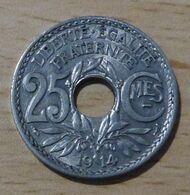 25 Centimes Lindauer 1914 De Belle Qualité - F. 25 Centesimi