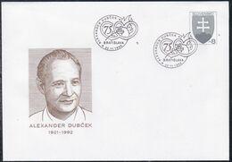Slowenko, 1996,  U 16, ALEXANDER DUBCEK - Postal Stationery