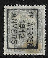 Antwerpen  1912  Nr. 1810Bzz - Precancels