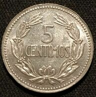 VENEZUELA - 5 CENTIMOS 1965 - KM 38.2 - Venezuela