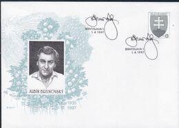 Slowenko, 1997  U 19, ALBIN BRUNOVSKY - Postal Stationery