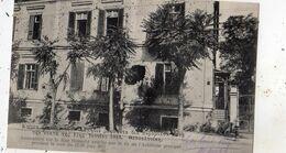 GRECE ATHENES IMMEUBLES SUR LA RUE HAMIDIE CRIBLES PAR LE TIR DE L'ARTILLERIE GRECQUE PENDANT LA NUIT DU 17/30 JUIN 1913 - Grèce