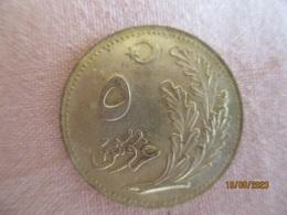 Turkey: 5 Kurush 1340 (HE) - Turkey