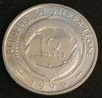SIERRA LEONE - 10 LEONES 1996 - KM 44 - Mammy Yoko - Sierra Leone