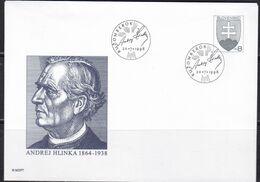 Slowenko, 1998  U 30, 20. Pater Andrej Hlinka - Postal Stationery