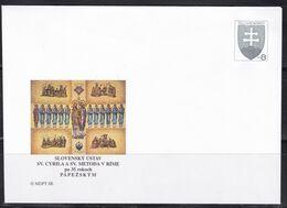 Slowenko, 1998  U 31, 20. Hl. Cyril Und Metod - Postal Stationery