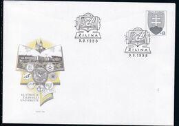 Slowenko, 1998  U 32, Universität In Zilina, University In Zilina - Postal Stationery