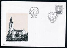 Slowenko, 1998,  U 33, Kirche In Zohor, Church In Zohor, - Postal Stationery