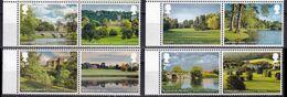 Great Britain 2016 Bridges Castles Capability Brown 8v MNH - Brücken