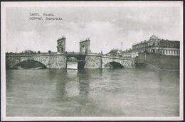 Estonia: Tartu, Kivisild / Dorpat, Steinbrücke  1923 - Estonia