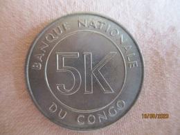 Congo: 5 K (makuta) 1967 - Congo (Democratische Republiek 1964-70)