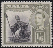 Malta   .    SG  .     227     .     *      .   Mint-hinged      .   /   .   Ongebruikt - Malta (...-1964)
