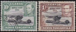 Kenya U.T.    .    SG  .     163/164    .     O      .  Cancelled      .   /   .  Gebruikt - Kenya, Uganda & Tanganyika
