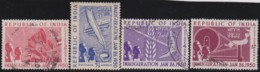 India      .    SG  .    329/332   (331: *)      .       O         .     Cancelled       .   /   .     Gebruikt - 1936-47  George VI