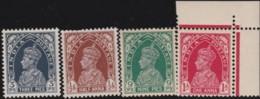 India      .    SG  .     247/250     .     *      .   Mint-hinged      .   /   .   Ongebruikt - 1936-47  George VI