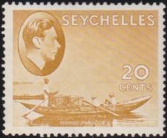 Seychelles     .    SG  .     140ab      .     *      .   Mint-hinged      .   /   .   Ongebruikt - Seychellen (...-1976)