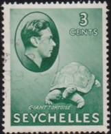 Seychelles     .    SG  .     136     .   O      .  Cancelled      .   /   .   Gebruikt - Seychellen (...-1976)